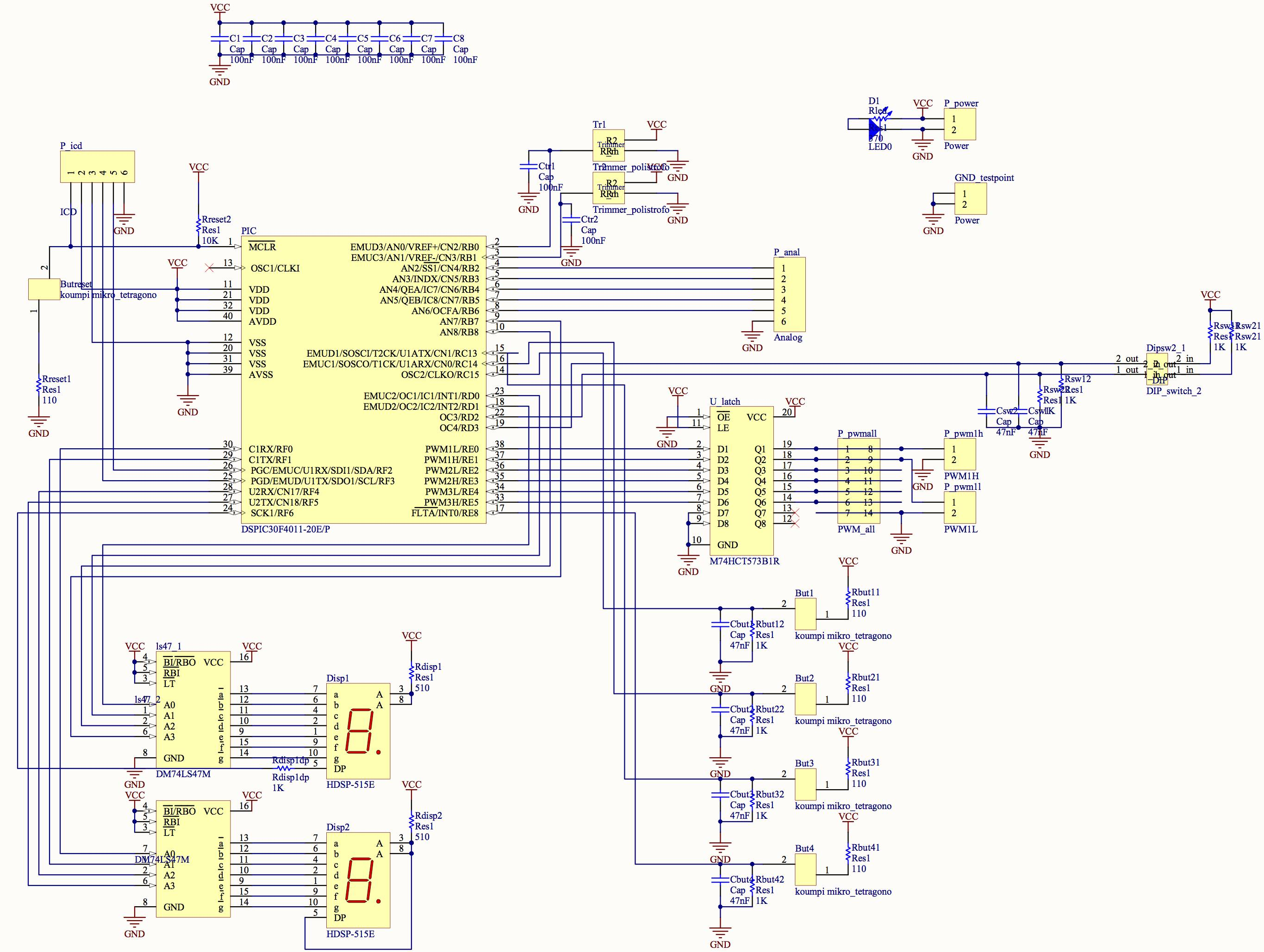 Multiboard_schematic Mplab Icd Schematic on