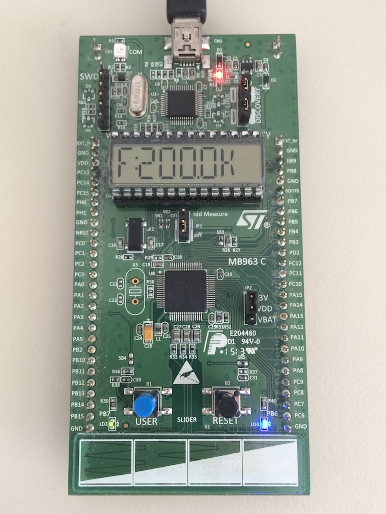 PWM Generator on a STM32L152 Discovery